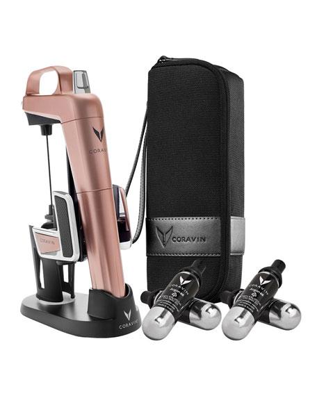 Coravin Model 2 Elite Pro Wine System, Rose Golden