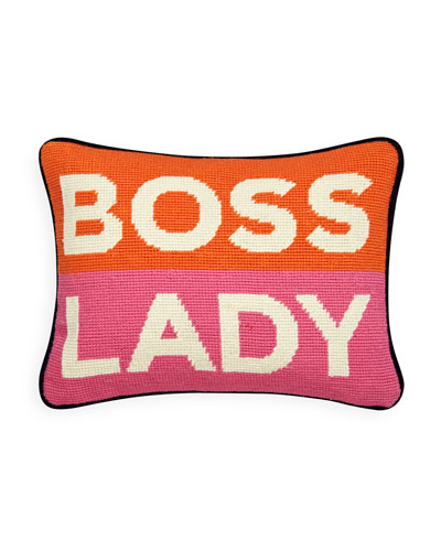 Boss Lady Pillow