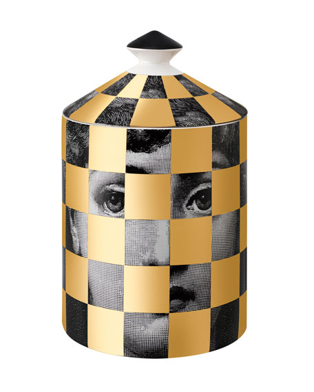 Image 1 of 2: Fornasetti Scacco Scented Candle, 300 g