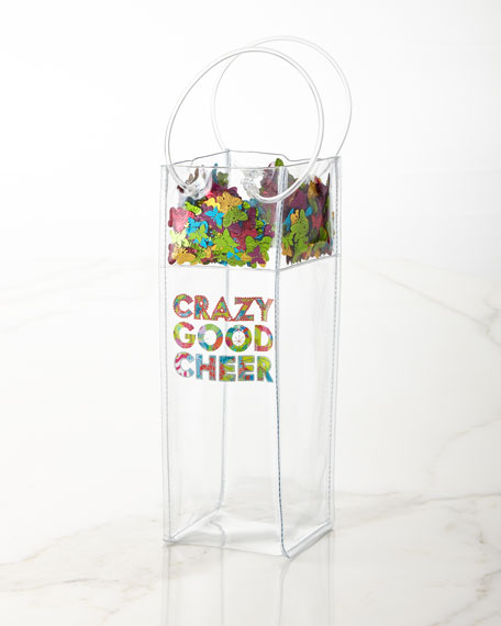 Packed Party Crazy Good Cheer Wine Gift Bag