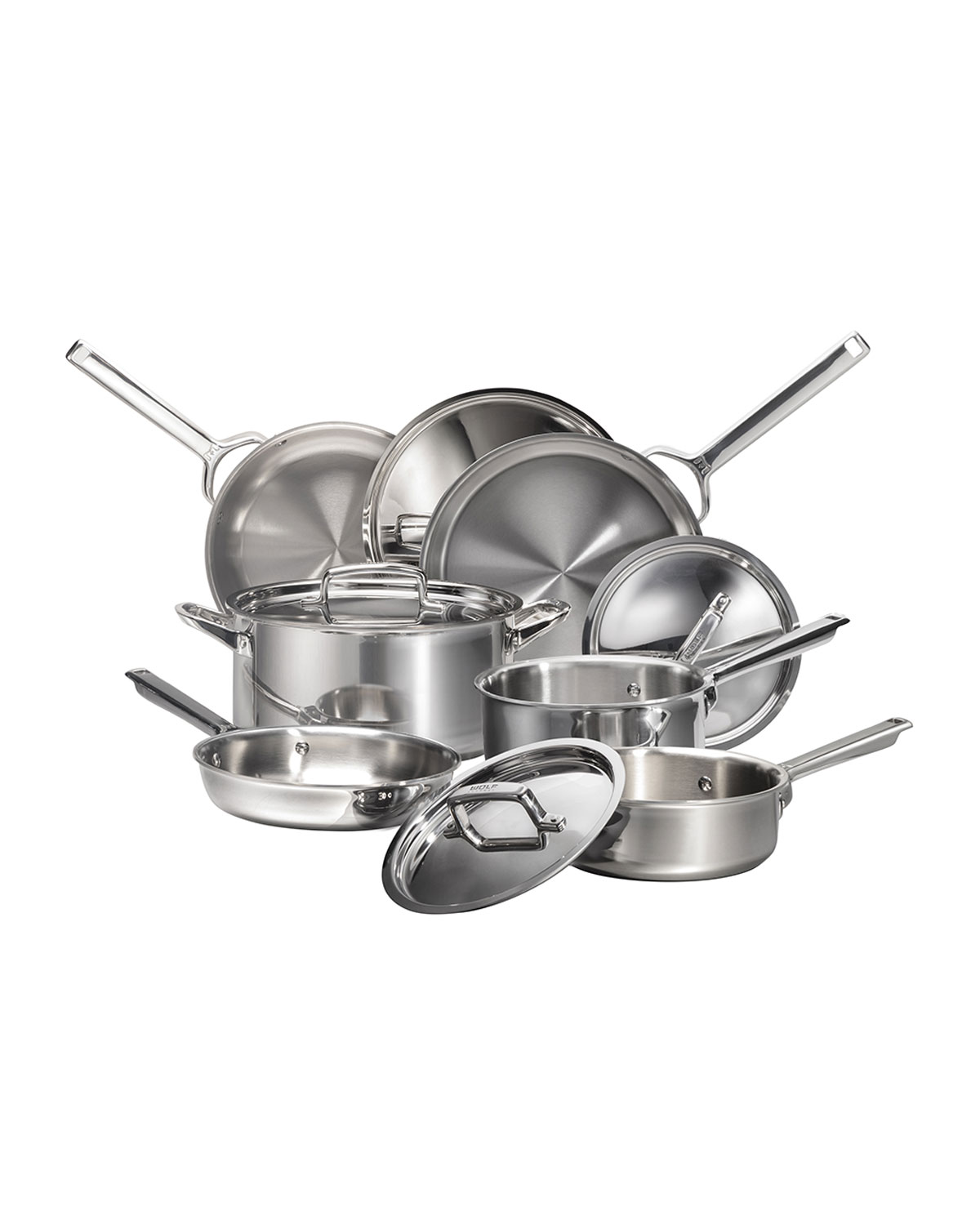 10 Piece Ultimate Brush Collection: Wolf Gourmet 10-Piece Cookware Set