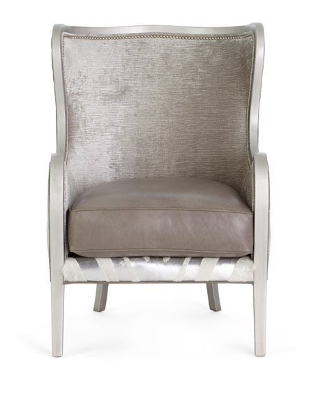 Massoud Diana Wing Chair