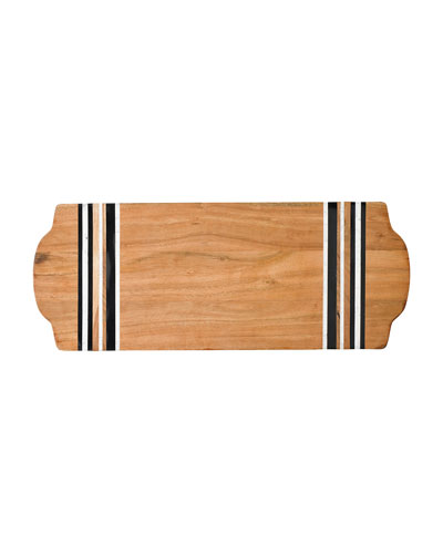 Stonewood Stripe Large Serving Board