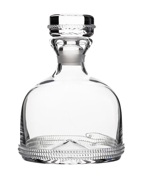 Juliska Dean Whiskey Decanter
