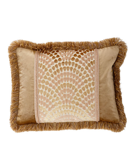 Dian Austin Couture Home Rosamaria Standard Sham with Fringe