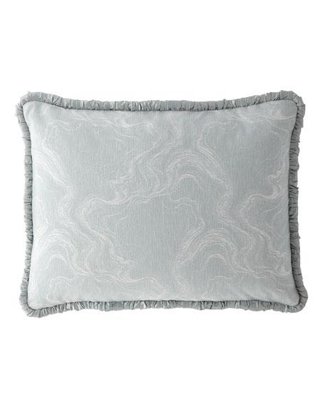 Dian Austin Couture Home Quartzite Standard Sham with Silk Piping