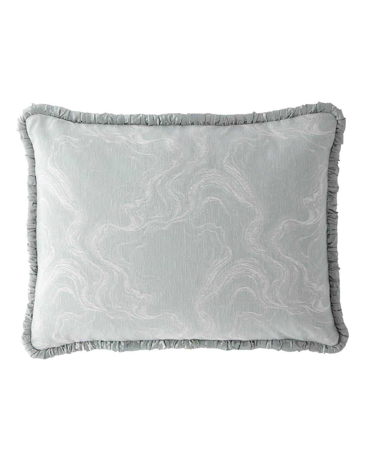 Dian Austin Couture Home Quartzite Standard Sham with Silk Piping