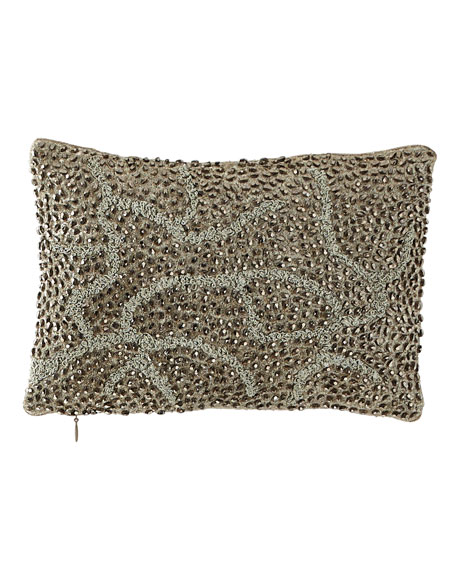 Michael Aram Pomegranate Beaded Pillow