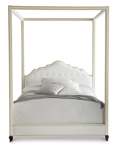 Haute House Athena California King Canopy Bed