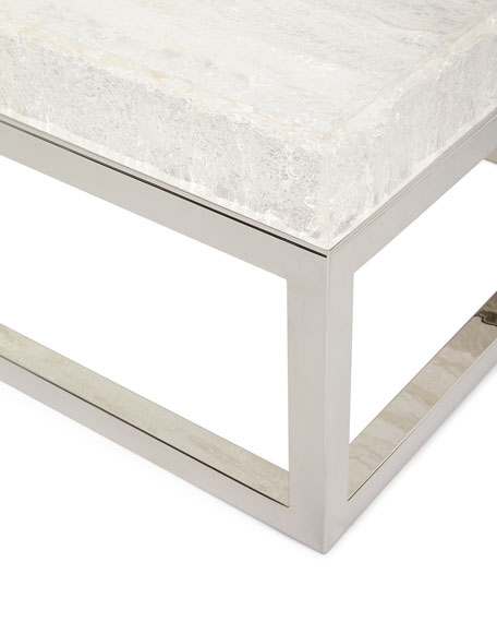 Image 4 of 5: Bernhardt Elsa Arctic Coffee Table