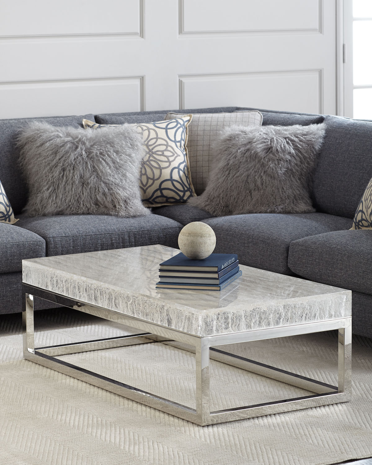 Bernhardt Elsa Arctic Coffee Table