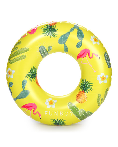 Image 2 of 2: Cactus Cooler Inflatable Pool Float