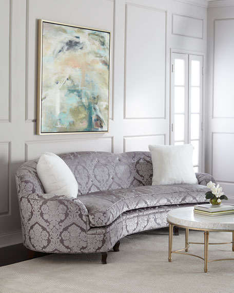 Haute House L'Amour Damask Sofa 118""