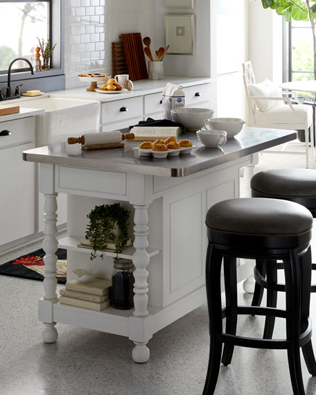 Image 1 of 6: Shanon Kitchen Island