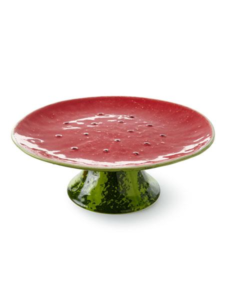 "Watermelon Cake Stand, 13""Dia."