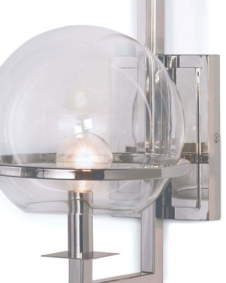 Regina Andrew Design Saturn Polished Nickel Sconce