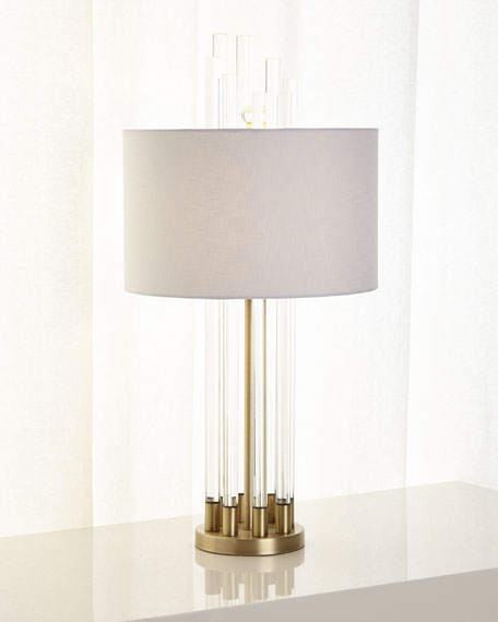 Image 3 of 3: Carnegie Table Lamp