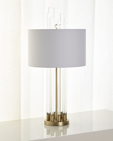 Image 1 of 3: Carnegie Table Lamp
