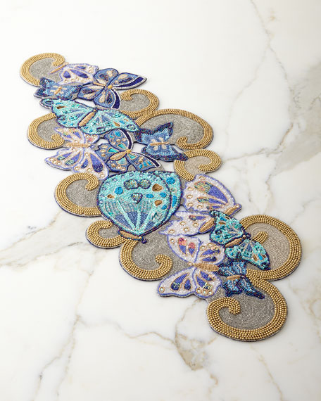 Kim Seybert Flutter Table Runner