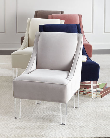 Chelsea Swoop Arm Accent Chair