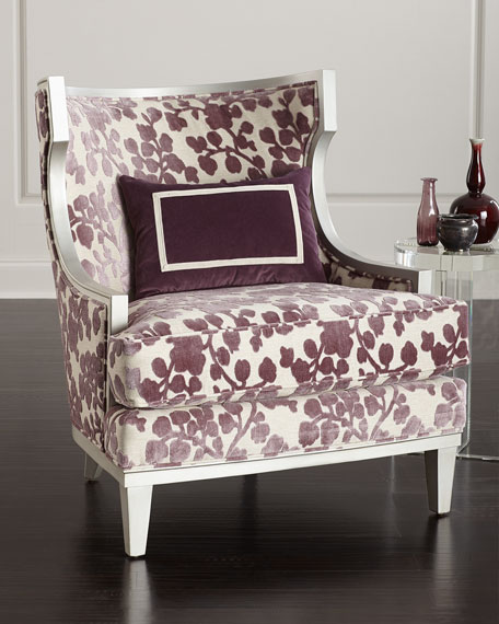 Image 1 of 5: Massoud Orchid Park Wing Chair