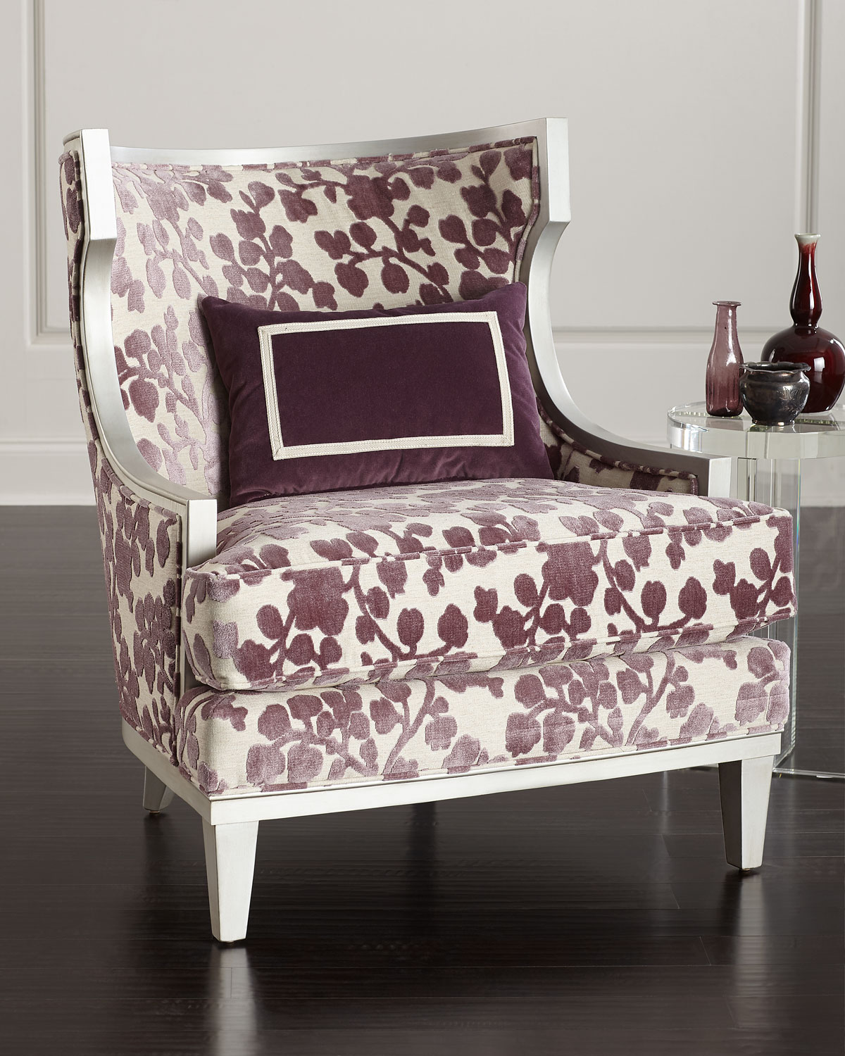 Massoud Orchid Park Wing Chair