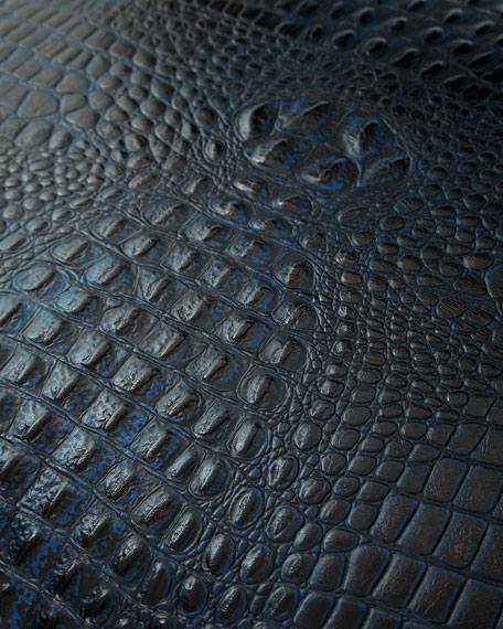 Mauricio Croc-Embossed Directors Chair