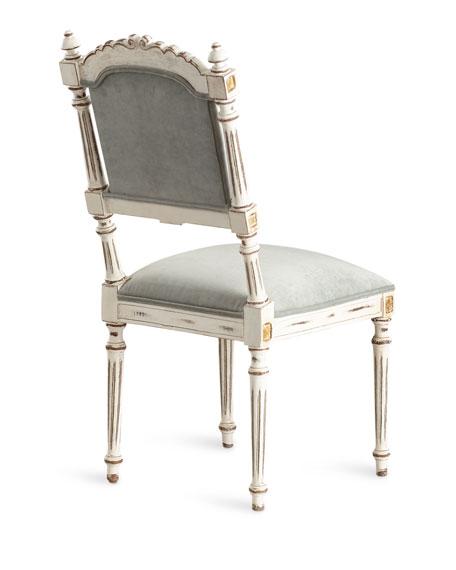 Angelette Velvet Dining Side Chair