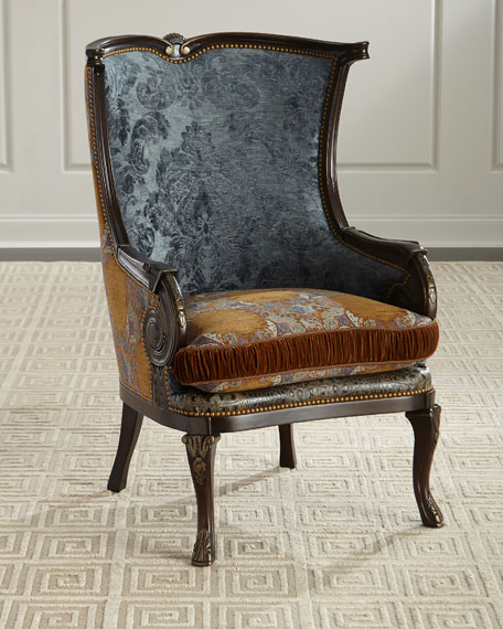 Massoud Dominick Wing Chair
