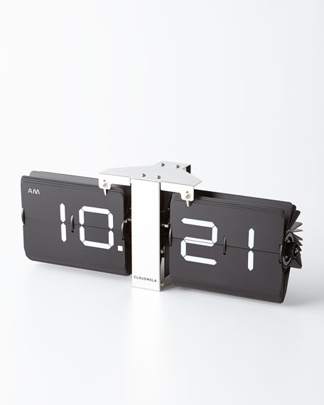 Cloudnola Flipping Out Desk Clock
