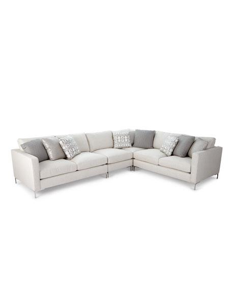 Bernhardt Eden 4-Piece Sectional Sofa