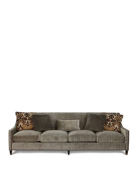 "Bernhardt Palisades Extra Long Sofa 108"""