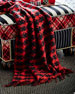 MacKenzie-Childs Houndstooth Throw Blanket