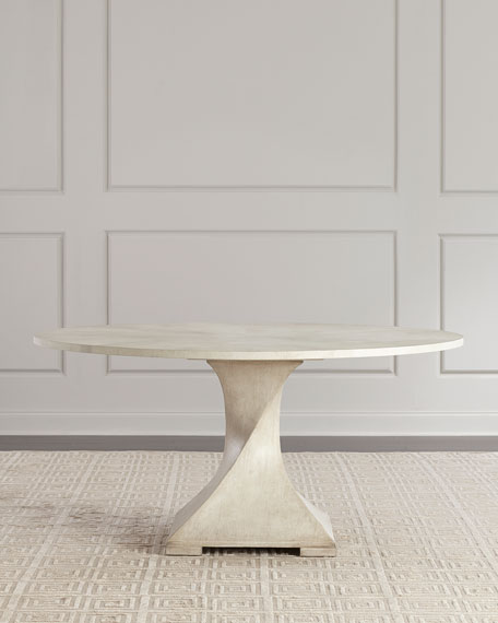 John-Richard Collection Lavertezzo Dining Table and Matching