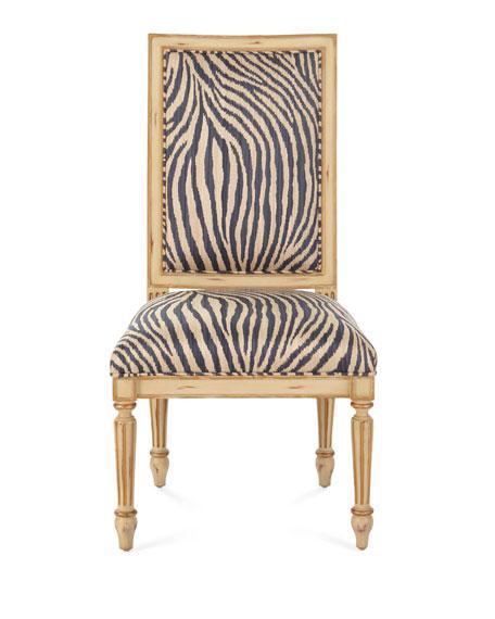 John-Richard Collection Zebra Dining Side Chair
