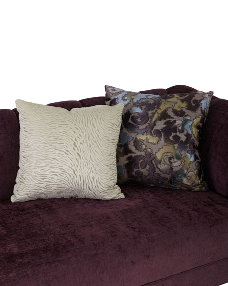 """Haute House Bethany Channel Tufted Sofa 109"""""""