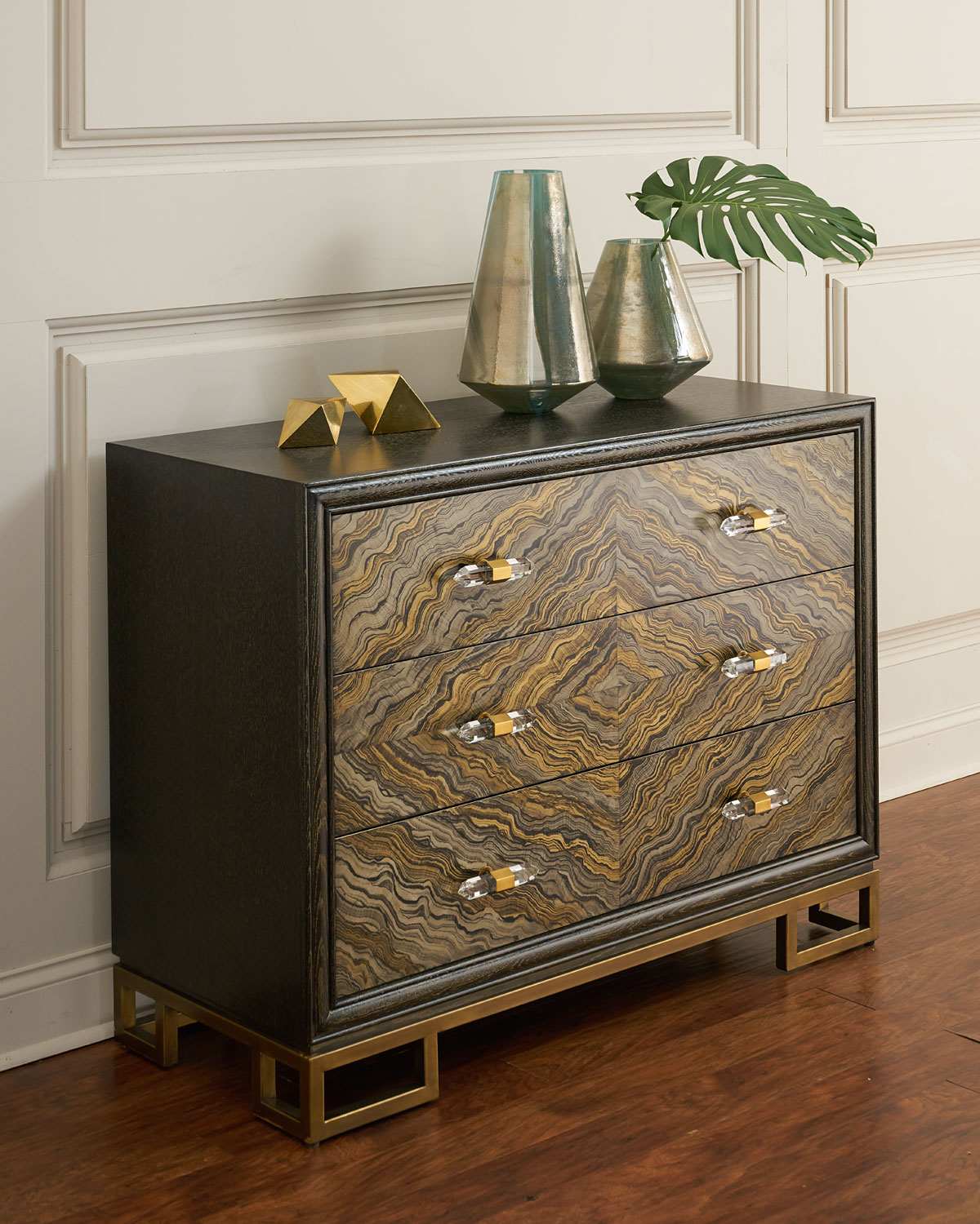 John-Richard Collection Portoro Chest