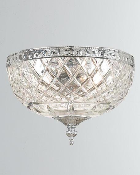 Crystorama 2-Light Crystal Ceiling Mount