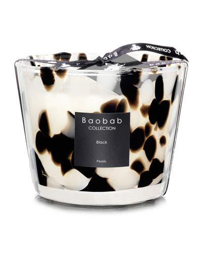 Black Pearls Scented Candle  3.9