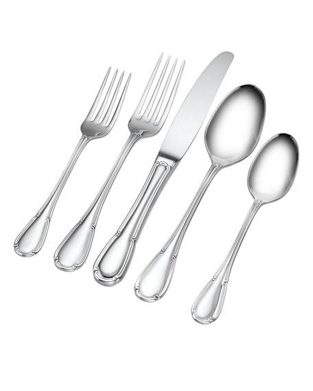 Hampton Forge 20-Piece Rivoli Stainless Steel Flatware Set