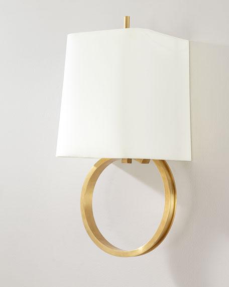 Chapman & Myers Launceton Large Ring Sconce