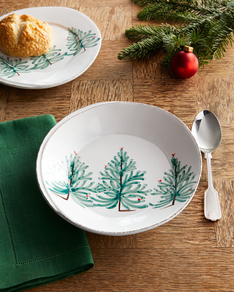 Vietri Lastra Holiday Pasta Bowl