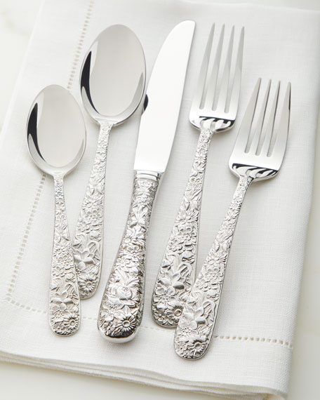 Image 1 of 2: Towle Silversmiths 20-Piece Contessina Flatware Set