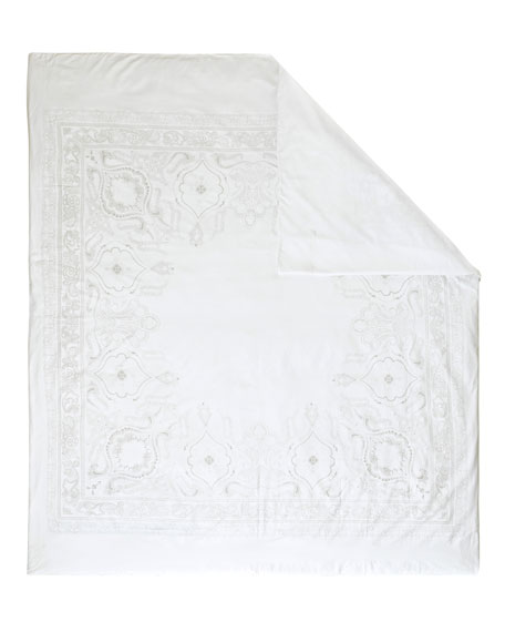Anne de Solene Majeste 300 Thread-Count Queen Duvet Cover