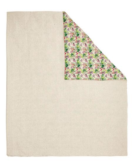 Anne de Solene Champetre Stone-Washed Linen Queen Duvet Cover