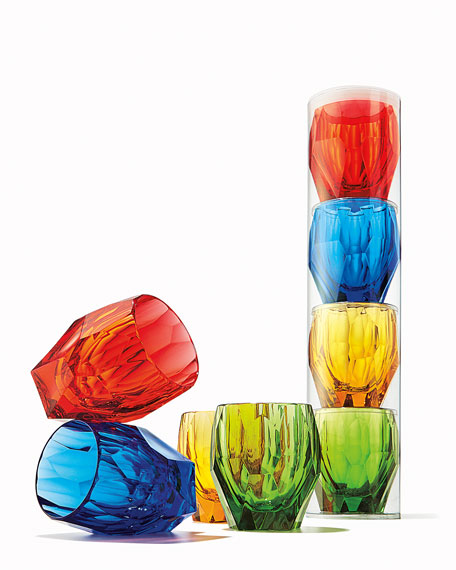 Rainbow Milly Glasses, Set of 4