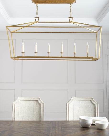 Chapman & Myers Darlana Large Linear Lantern