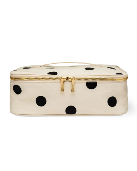 kate spade new york deco dot lunch box