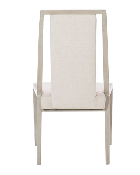 Bernhardt Axiom Cutout Dining Side Chairs (Pair)