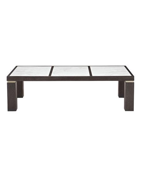 Bernhardt Decorage Marble-Panel Coffee Table